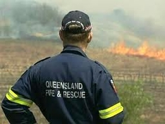 Fraser Island Resort under threat from Bushfire
