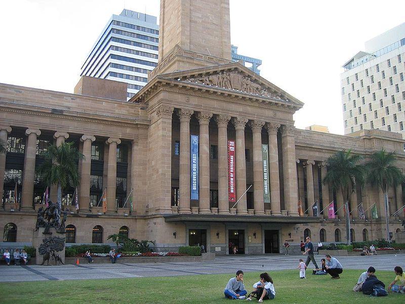 Foyer Museum Queensland : Queensland museums